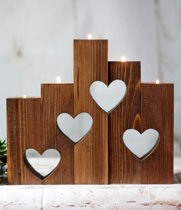 A wedding gift. A housewarming gift. A holiday gift. Basically, this candle holder makes a really great gift.