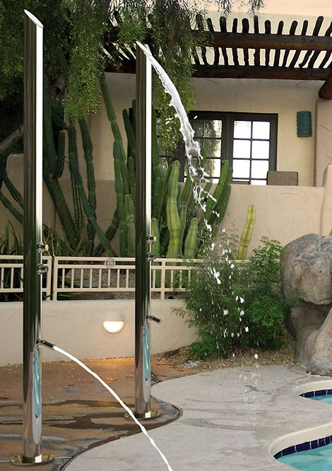 15 outdoor shower designs for refreshment during the summer