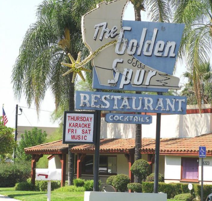 These 10 Old Restaurants In Southern California Have Stood The Test Of Time. The Golden Spur in Glendora -- 1918
