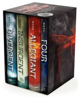 Divergent Series Ultimate Four-Book Box Set: Divergent, Insurgent, Allegiant, Four (I'll have to read Four as I've only read the first three) - Veronica Roth