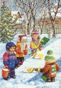 shoveling snow (117 pieces)