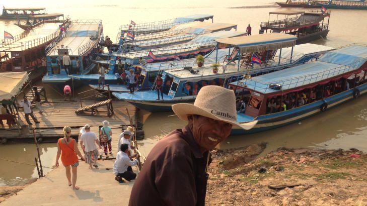Opplev det ekte Kambodsja. Ta vannveien.