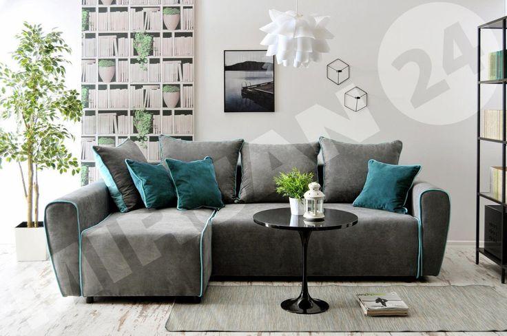 If you like to rest this cornersofa is perfect for you :) Jeżeli lubisz odpoczywać to ten narożnik jest dla Ciebie stworzony :)  #cornersofa #mirjan24 #livingroom #home #sofa #dom #narożnik