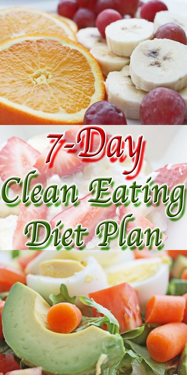 7 Day Clean Eating Diet Plan