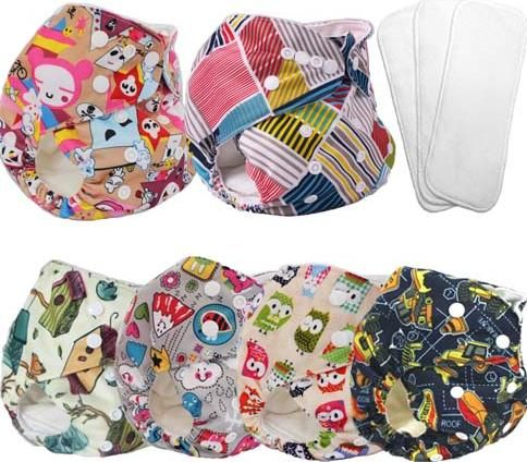 gently used cloth diapers