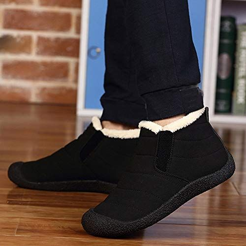 01cae01a840de DENER?? Unisex Men Women Fashion Winter Snow Boots,Slip on Wide Calf ...
