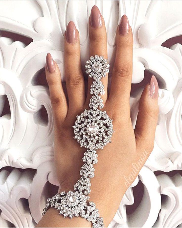 52 best Hand Harness/Bracelet images on Pinterest   Bridal bridal ...