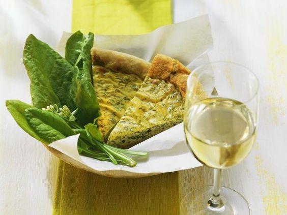 Sauerampfer-Quiche ist ein Rezept mit frischen Zutaten aus der Kategorie Quiche. Probieren Sie dieses und weitere Rezepte von EAT SMARTER!