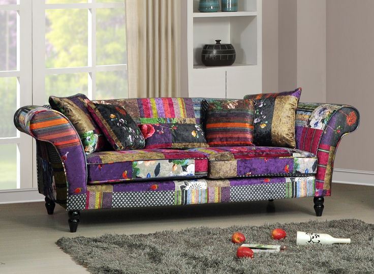 Patchwork loose covers google search great home ideas for Luxurious loose covered sofas ideas