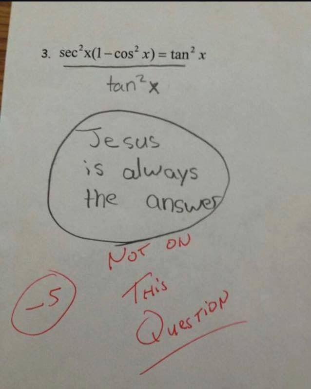 Next time I don't know an answer I'm putting this. Lol