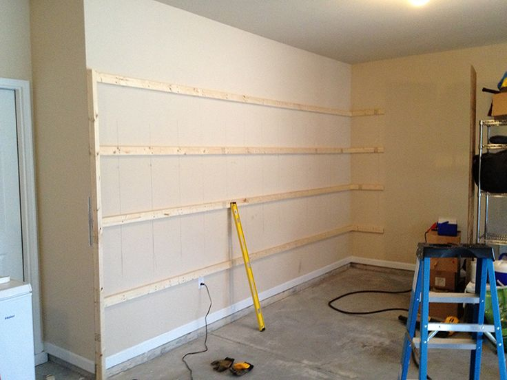 Modern Design Pictures, How To Build Shelves In Garage Wall