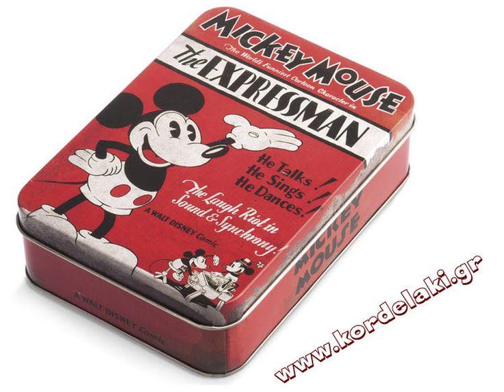 Κουτί μεταλλικό mickey mouse για μπομπονιέρα γάμου και βάπτισης, στολισμούς, κατασκευές, διακοσμήσεις ή οτιδήποτε έχετε φανταστεί.