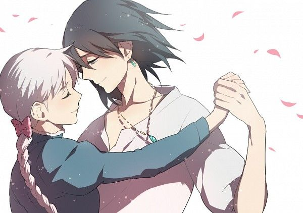 Sophie and Howl. I love this picture.