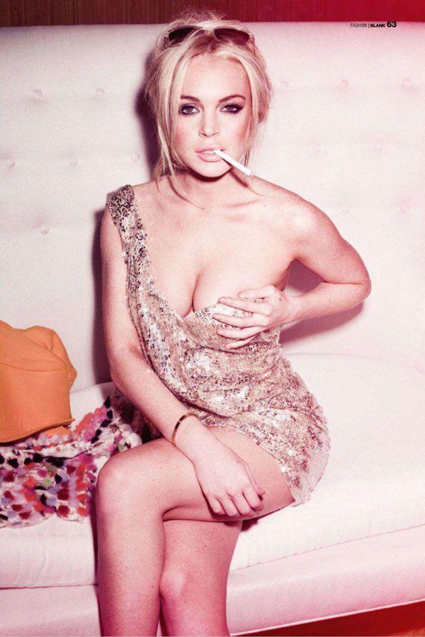 Lindsay Lohan for Blank Magazine May 2011 Photo: Pajamas, Celebrity, Sexy, Lindsey Lohan, Blank Magazines, Jammi, Lindsay Lohan, Lindsaylohan