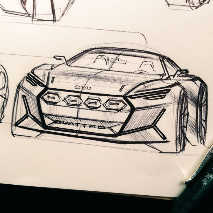 Audi sketches