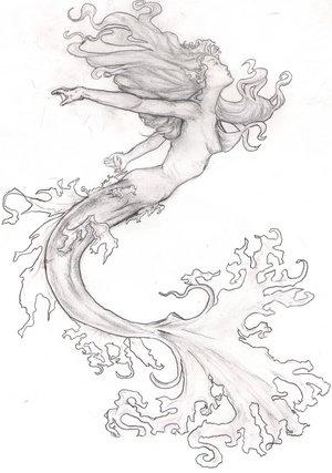 Gorgeous siren art