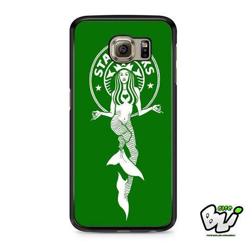 Green Starbuck Coffee Logo Samsung Galaxy S6 Case