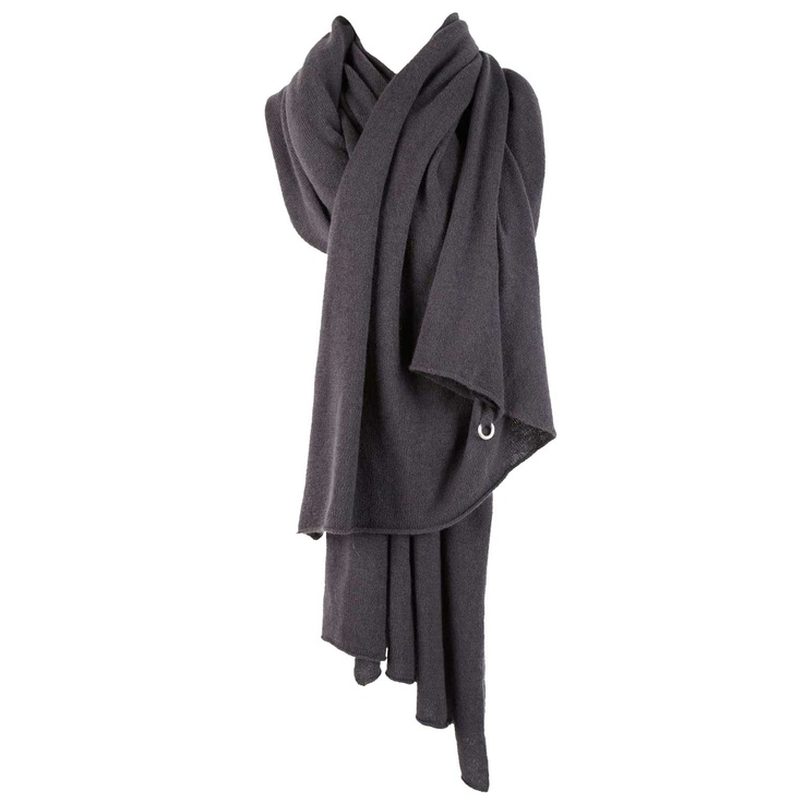 BERYLL Deluxe cashmere wrap scarf (dark grey). $649: 649 Today, Beryll Cashmere Wrap, Fashion Inspiration, Dark Grey, Deluxe Cashmere, Today Show