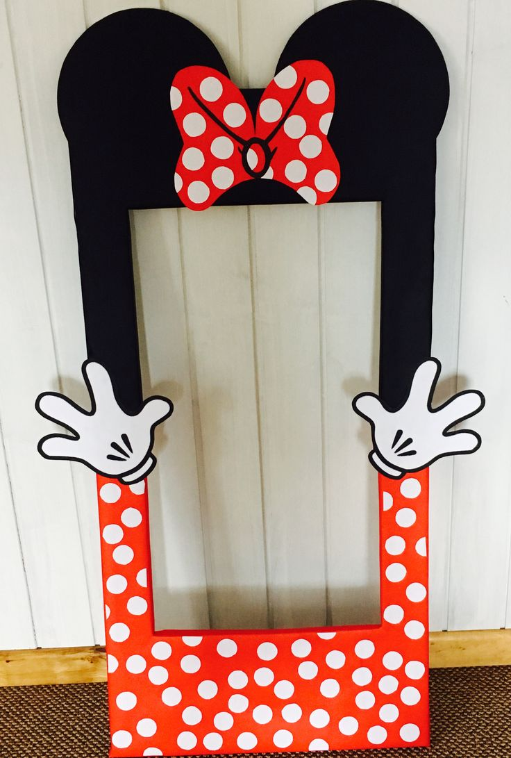 Marco Fotos Instagram Minnie Mouse Baby Shower DIY
