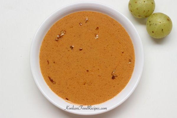 Gooseberry Curry (Avale Khadi)