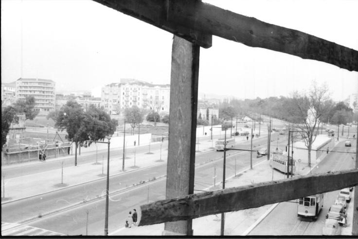 Praça de Entrecampos.