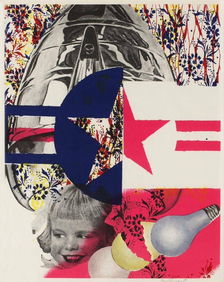 F-111 (Castelli Gallery poster) | James Rosenquist | 1965