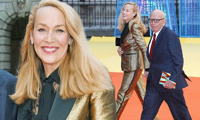 Rupert Murdoch, 86, and Jerry Hall, 60, proved their union was still going strong when they attended the Royal Academy Of Arts Summer Exhibition in London on Wednesday.