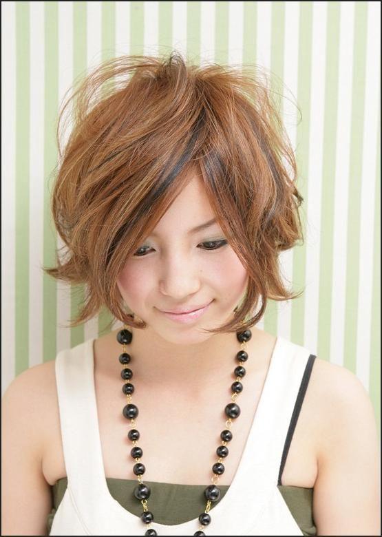 Messy Japanese Bob Hairstyle Short Hairstyles Modern Fashion