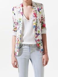 floral blazer jacket. I want