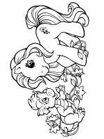 Petit Poney Et Son Dragon Coloring Pages Dragon Sons