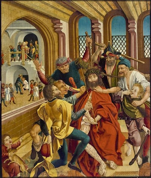 Art Search | Winnipeg Art Gallery Wolfgang Katzheimer the Elder German, 1478–1508 The Mocking of Christ, c. 1500 tempera on panel  99.9 x 83.7 cm  Collection of the Winnipeg Art Gallery; Gift of Lord and Lady Gort  G-70-593