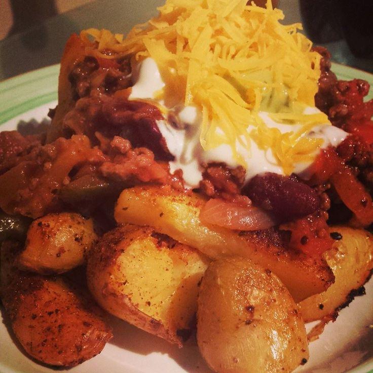 Unislim taco fries. A healthy fakeaway recipe.