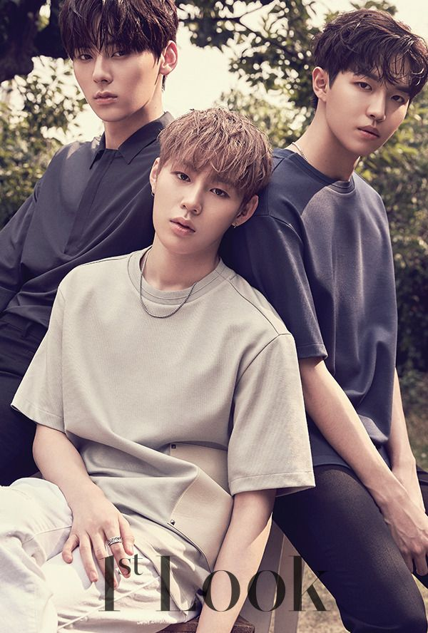Hwang Minhyun, Ha Sungwoon, Kim Jaehwan (Wanna One) - 1st Look Magazine vol. 137