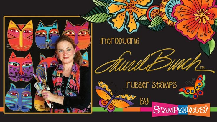 Stampendous is proud to welcome Laurel Burch to our family of creative licenses. Perfect for card making, mixed media, and all of your creative pursuits.