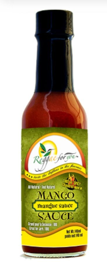 Mango Hot n spicy Sauce great on pizza, dips, salads or your favourite foods