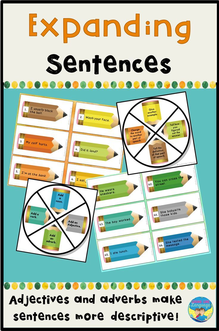 Make learning parts of speech fun with this activity set that gets kids using adverbs and adjectives in descriptive sentences! Great for learning centers and speech therapy!