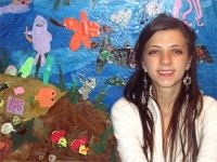 Alumna Meredith Turcotte, a painter, who completed the Art Education Teaching Practicum -Practicum Seminar at Montserrat College of Art, has accepted a long term substitute teaching position in the Hamilton-Wenham school district. She will be teaching elementary art at Winthrop Elementary School and Bessie Buker Elementary School while the art teacher is on leave.