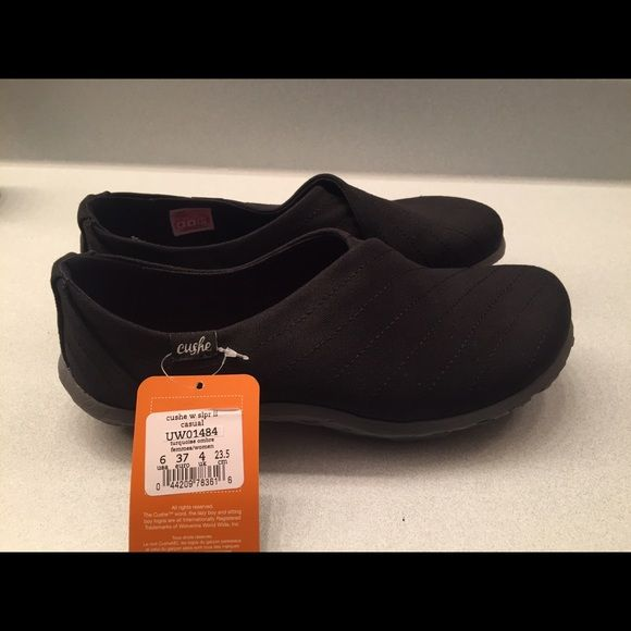 NWT Cushe shoes  NWT. My favorite shoe but they're too big for me. Very comfortable. Size 6 but fit like a 7. Cushe Shoes Slippers