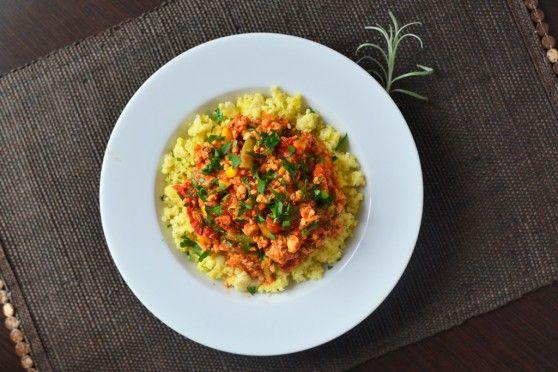 Włoska potrawka drobiowo-warzywna na kaszy jaglanej | W Krainie Smaku