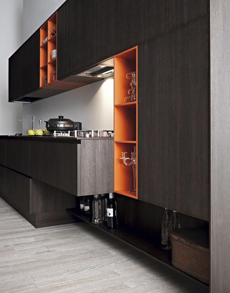 #Cesar keuken Kora met #oranje accent