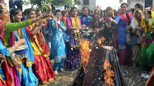 Lohri Celebration - Indian Festivals Calendar