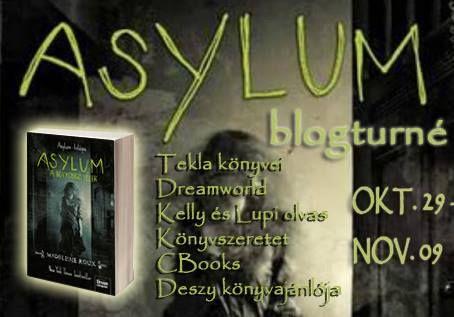 Tekla Könyvei: Madeleine Roux – Asylum: A bolyongó lélek (Asylum ...
