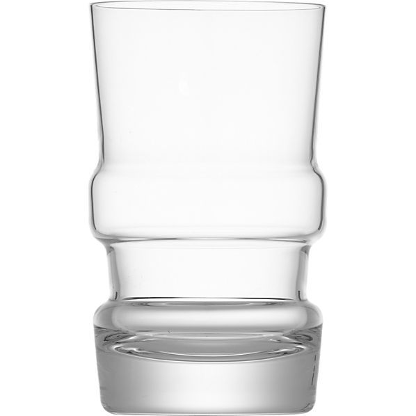 Joseph Highball Glass in Bar and Drinking Glasses | Crate and Barrel