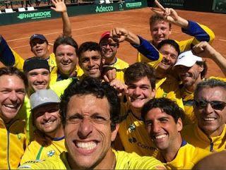 Blog Esportivo do Suíço:  Brasil encara o Japão fora de casa na repescagem da Copa Davis