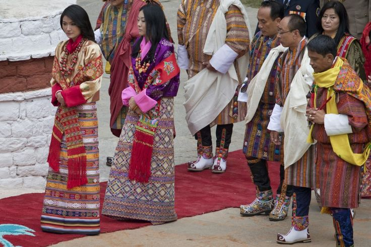 bhutan traditional dress - Google Search