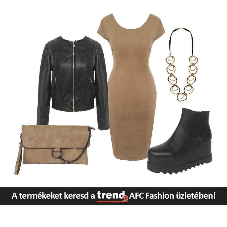A kedvenc őszi színkombinációnk: ő(s)z barna és fekete. Imádjuk! Az AFC fashionben megszerezheted!