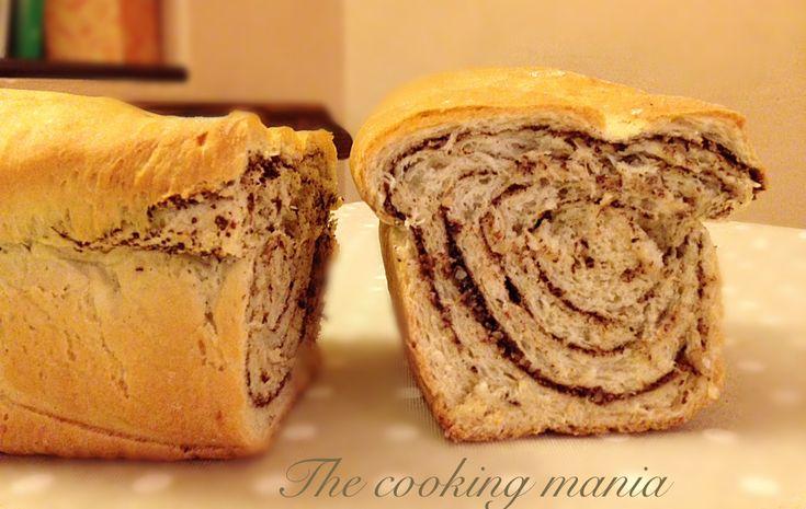 Pan bauletto mandorle e cioccolato