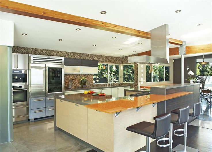 Multitiered Countertopslike The One Here Are A Kitchen Design Trend With  Staying Power.Browse Moreprojects By Troy Adams Design .,Large Contemporary  Kitchen ... Part 76