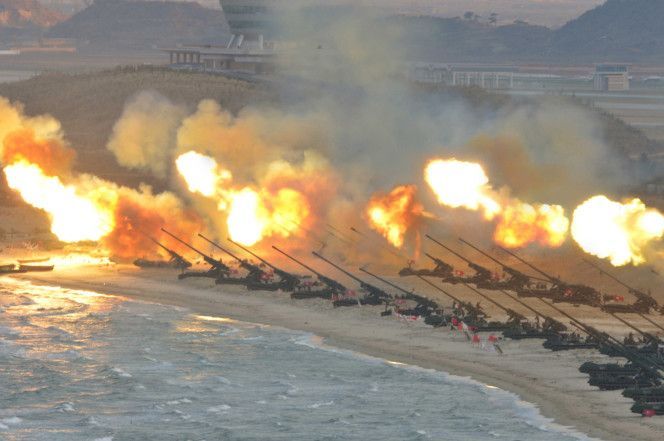 North Korea turning missile test site into swanky resort