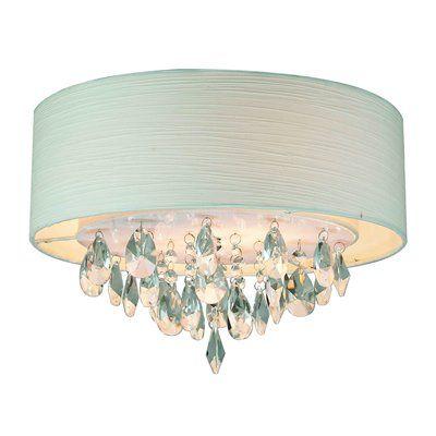 Gen-Lite Industries 103811 Rossini Flush Mount Ceiling Light